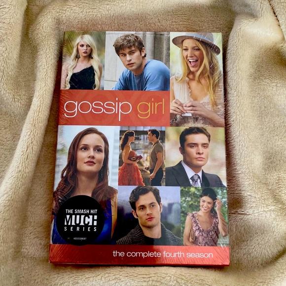 GOSSIP GIRL The Complete Fourth Season Four DVD
